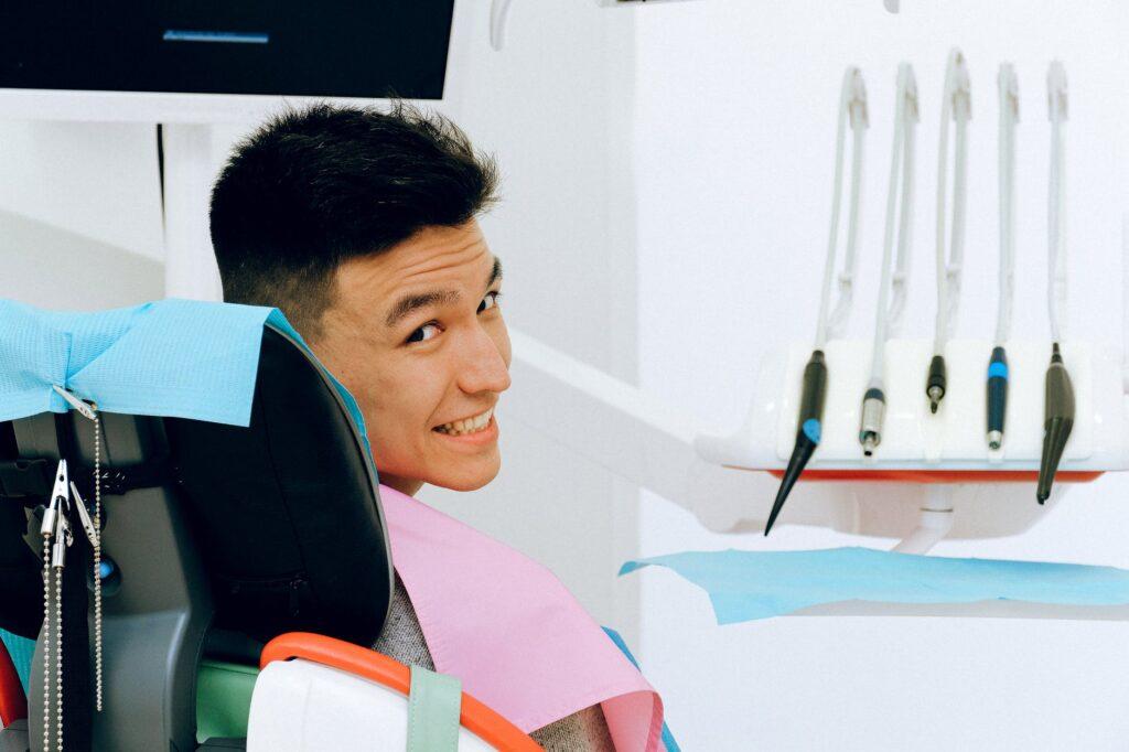 imagem de pacientes na Odontologia
